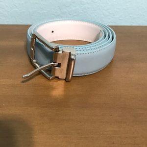 Baby blue belt